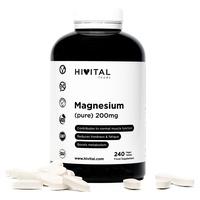 Magnesio puro 200 mg procedente de Citrato de Magnesio