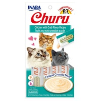 Churu Cream for Cats Chicken with Crab