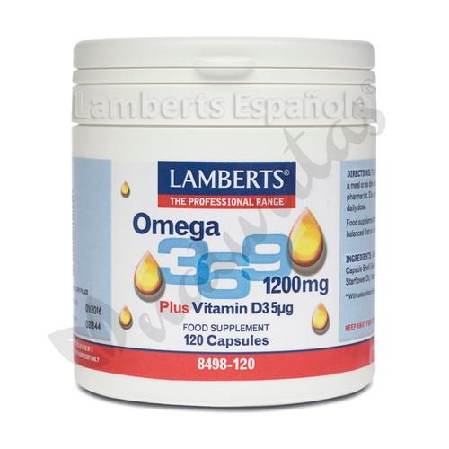 Omega 3-6-9 con vitamina D3