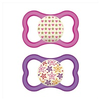 Mam 16+ 2 Air Night Silikon soothers