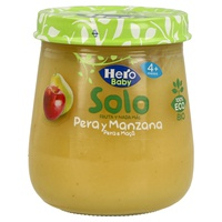 Jar of Pear and Apple Eco Hero Baby Solo
