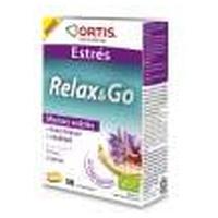 Relax & Go  30 Comprimidos de Ortis