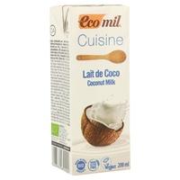 Bebida de coco para cocinar Bio
