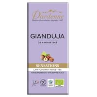 Tableta de chocolate Gianduja