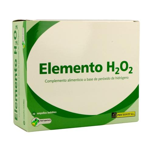 Elemento H2 O2 20 ampollas de Phytovit