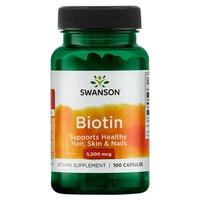 Biotina, 5000mcg