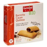 Barrita de quinoa rellena de crema de cacao sin gluten Bio