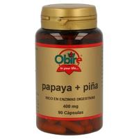 Papaya y Piña