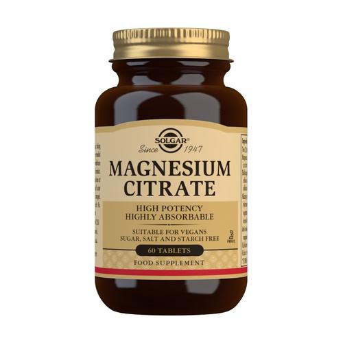 citrato de magnesio para que se utiliza