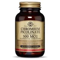 Chromium Picolinate 500 µg Vegetable