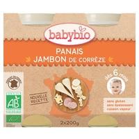 Small Pots Parsnip Organic Gruyère Ham Menu (from 6 months)