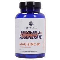 GoPrimal Magnesio -Zinc - B6 - Regenera & Protegete