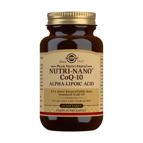Nutri-Nano CoQ10 con Ácido Alfa Lipoico