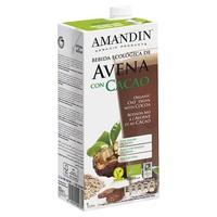Bebida de Avena con Cacao 1 litro de Amandin