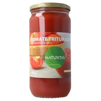 Zerkleinerte Bio-Tomaten