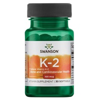 Vitamin K-2- Natural, 100mcg