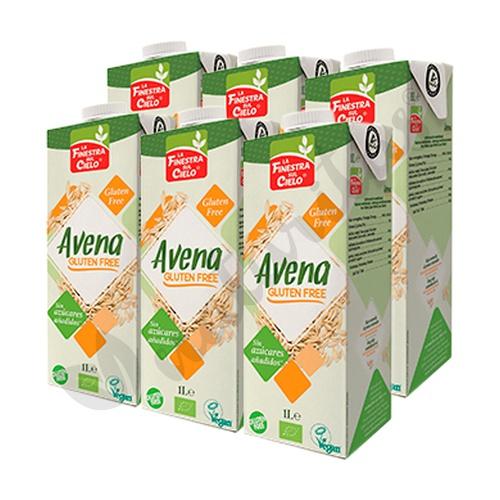 Pack 6x Bebida de avena sin gluten