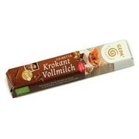 Barritas de Chocolate con Leche Crocanti y Almendra Bio