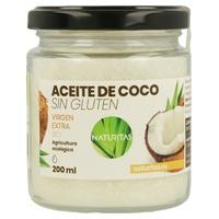 Óleo de coco orgânico sem glúten