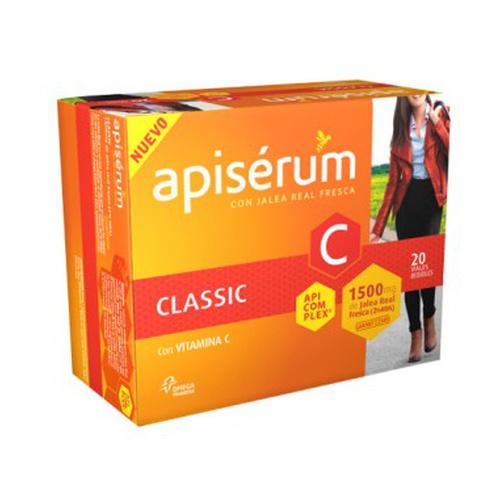 Apiserum Classic 1500 mg 20 viales de Apiserum
