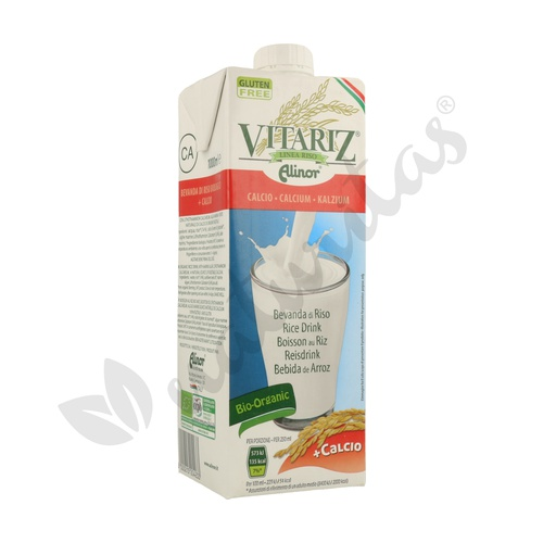 Bebida de Arroz y Calcio Bio 1 litro de Vitariz