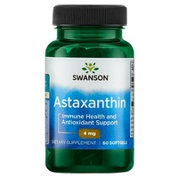 Astaxanthine, 4 mg