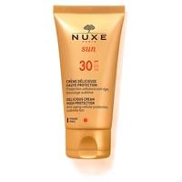 Nuxe Sun - Köstliche High Protection Gesichtscreme SPF30
