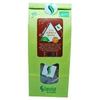 Hoja de Moringa Melocotón con Stevia Bio