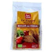 Zuppa boulgur con verdure - taboulè