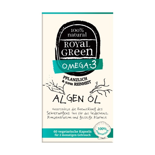 Omega 3 Aceite de Algas 100% natural