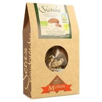 Shiitake Organic Dried Mushrooms