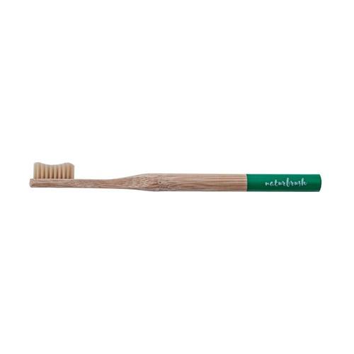 Cepillo de Dientes de Bambú para Adultos Producto Unitario de Cepillo de 188 mm (milímetros) (verde) de Naturbrush