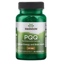 PQQ Pyrroloquinoline Quinone, 20 mg