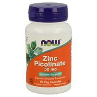 Zinc Picolinato 50 mg 60 cápsulas de Now