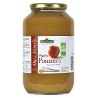 Apple puree without sugar