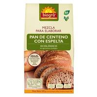 Mezcla para Elaborar Pan de Centeno Espelta Bio 510 gr de Biogra