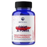 GoPrimal Brain Power - Focus and Power