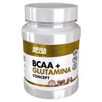 BCAA + Glutamine Concept