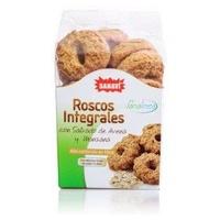 Roscos Integrales de Salvado de Avena y Manzana