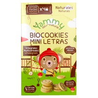 Galletas Biocookies Mini Letras