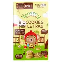 Bolachas Biocookies Mini Letras