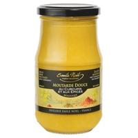 Moutarde douce épices/curcuma bio