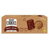 Biscuits bio au chocolat et aux noisettes sans gluten