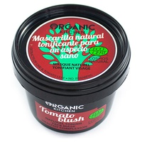 "Mascarilla facial natural tonificante ""Tomato blush"""