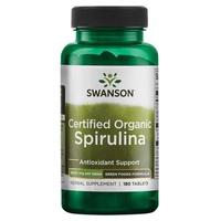 Green Food Formules Spiruline certifiée biologique 500 mg