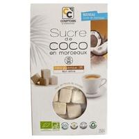 Pedaços de açúcar de coco orgânico