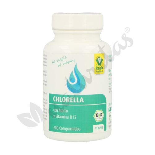 Clorella 200 Comprimidos de Raab