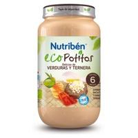 Eco Potitos Delicias de Verduras y Ternera