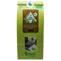 Té verde Gunpowder Menta con Stevia Bio