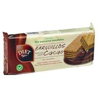 Barquillos Rellenos Sabor Cacao